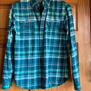 Merona Men's M Flannel Shirt